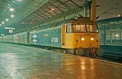 Photo of 47639 Crewe 11th December 1987.