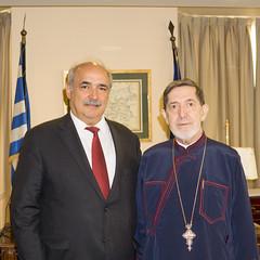Συνάντηση Υφυπουργού Εξωτερικών, Μ. Μπόλαρη, με τον Μητροπολίτη Μεξικού κ. Αθηναγόρα (Αθήνα, 10.10.2018) (Υπουργείο Εξωτερικών) Tags: μπολαρησ υφυπεξ ελλαδα αθηνα μητροπολιτησ αθηναγορασ bolaris mfaofgreece athens metropolitan athinagoras