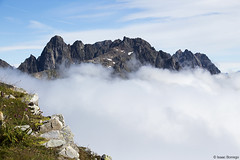 A Day in the Clouds (isaac.borrego) Tags: france chamonix alps frenchalps europe