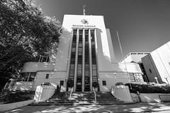 DSCF3225.jpg (RHMImages) Tags: artdeco xt3 building monochrome bnw fuji architecture blackandwhite courthouse nevadacity fujifilm nevadacounty