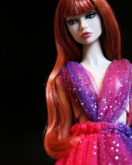 A distanty beauty... (Bogostick) Tags: ifdc poppyparker integritytoys peaceofmyheart redhead doll fashiondoll dollphotography