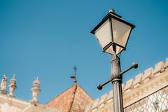 Lamp on Blue Sky (Poul_Werner) Tags: coimbra portugal vitusrejser ferie rejse travel coimbramunicipality coimbradistrict pt
