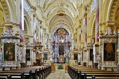 Ein prachtvoller barocker Innenraum - A magnificent baroque interior (cammino5) Tags: barock ebrach abteikirche innenaufnahme september 2018 franken bayern deutschland steigerwald
