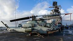"Bell AH-1W Lot VII Super Cobra 165274 ""HF-61"" D251039 (iceland´er) Tags: uss iwo jima reykjavik iceland bell super cobra venom mv22 osprey bellboeing hmla269 marines usmarines ussiwojima sundhöfn"