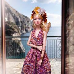 Poppy Parker (RockWan FR) Tags: poppyparker tothefair window see integritytoys fashionroyalty boho bohemian hippiestyle flowercrown