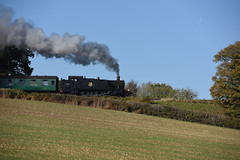 5199 MHR 21/10/18 (Woolwinder) Tags: gwr262t 5199 largeprairie midhantsrly hampshire england uk lswr southernrailway