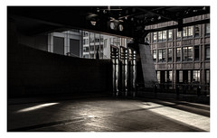 Ground Floor Bishopsgate Entrance (www.davidrosenphotography.com) Tags: architecture bishopsgate london shadow silhouette