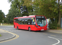 GAL WS110 - SK67FML - SIDCUP QUEEN MARYS HOSPITAL - THUR 23RD AUG 2018 (Bexleybus) Tags: goahead go ahead london wrightbus streetlite tfl route 286 sidcup queen marys hospital chiselhurst road frognal place ws110 sk67fml
