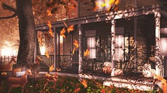 The generosity of a changing season (Alexa Maravilla/Spunknbrains) Tags: applefall gobyfameshed crate tlc theliaisoncollaborative sways serenitystyle secondlife sl decor decorate home outdoors house architecture building blog blogger photography