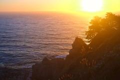 McWay Falls, CA (MSW3391) Tags: mcway falls big sur california monterey carmel fujifilm xpro1 sunset