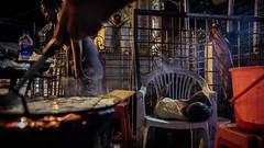 Kids will be Kids (Crossing China) Tags: myanmar asia seasia girl boy man handsome beautiful street streetphotography streetportraits streetportrait streetfood shadows light night smoke yangon rangoon burma