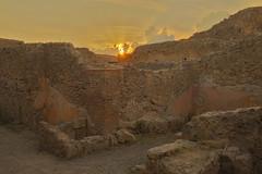 Il tramonto dell'Impero / The sunset of the empire (Pompeii, Campania, Italy) (AndreaPucci) Tags: pompeii pompei campania italia italy sunset roman city vesuvius andreapucci empire