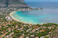 Beach of Mondello_2 (tomikaro) Tags: sicily palermo agrigento scopello cefalu italy vacation trip erice trapani