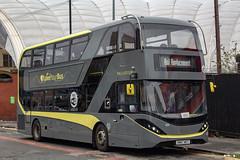 Blackpool Transport SN67WZT (Mike McNiven) Tags: blackpool transport enviro400 city alexanderdennis wigan wallgate atherton manchester victoria corporationstreet