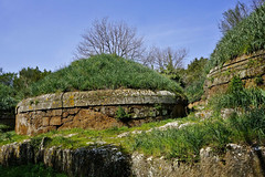 CERVETERI - NECROPOLI DELLA BANDITACCIA 592m (opaxir) Tags: cerveteri banditaccia necropoli necropolis etruscan etruschi etruscannecropolis lazio etruria landscape paesaggio