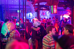 DSC07648 (Kory / Leo Nardo) Tags: frolic party frolicparty fur furry fursuit fursuiting sona fursona sanfrancisco california bar club theeaglebar eagle 2018 dance dj pupleo