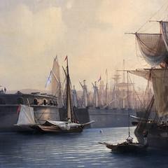 Port of Tallinn, Morning (Detail 3) 1853 (A.Davey) Tags: