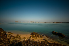 Beach at Chausey Islands, Normandy, France (Classicpixel (Eric Galton) Photography Portfolio) Tags: chausey island englishchannel beach plage sea mer seascape paysagemarin water eau ile sky ciel blue bleu turquoise nikon d800e nikon1635mmf4 ericgalton classicpixel