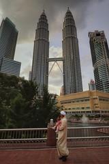 Petronas visit (leewoods106) Tags: malaysia kualalumpur petronastowers silver man view asia southeastasia fareast malaypeninsula malay sky bluesky clouds cloud cloudy skyscrapers skyscraper city capitalcity greatcity citycentre
