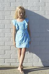 SS181001B TIE BACK DRESS - Bloom (1) (ZacaluZoo) Tags: miilovemu kids fashion boho children