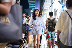 Night out (人間觀察) Tags: leica m240p leicam leicamp hong kong street photography people candid city stranger mp m240 public space walking off finder road travelling trip travel 人 陌生人 街拍 asia girls girl woman 香港 wide open voigtlandernokton3512 35mm f12 voigtlander