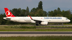 Airbus A321-231(WL) TC-JSK Turkish Airlines (William Musculus) Tags: airport spotting basel mulhouse freiburg euroairport eap bsl mlh lfsb airbus a321231wl tcjsk turkish airlines tk thy a321200