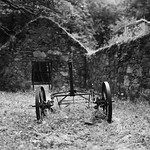 Inverary: disused farm implement thumbnail