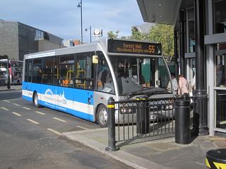 Arriva North East 2846 (YJ58 CAV). Haymarket Bus Station, Newcastle