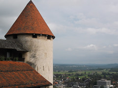 Tower (marco_albcs) Tags: bled slovenia slovenija castle tower cylindrical medieval grad cone conical