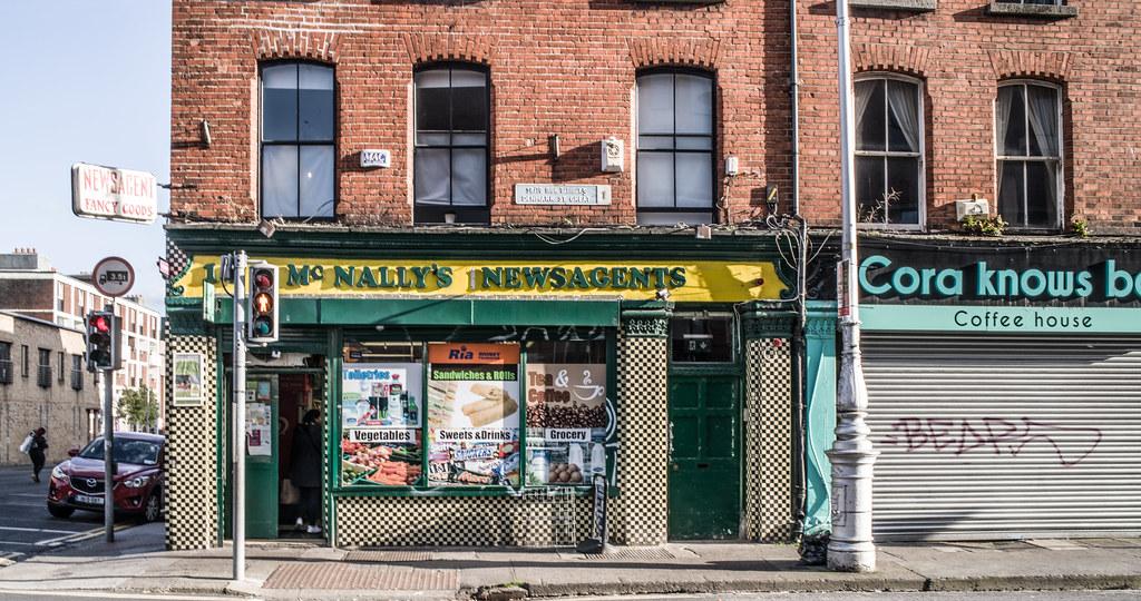 GREAT DENMARK STREET [McNALLY'S NEWSAGENTS]-144968