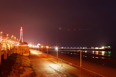 BLACKPOOL IN LIGHTS (skysthelimit333) Tags: blackpool blackpoollancashire lancashire northwestcoast blackpooltower
