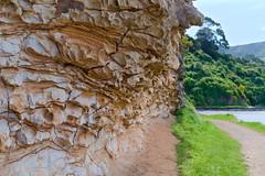 Old coach road - colourful rocks (Kiwi Jono) Tags: old coach road rocks colour governors bay smcpa50mmf14 pentax pentaxk1 outdoor