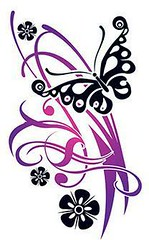 Flirty Butterfly Wit (TattooForAWeek) Tags: flirty butterfly wit tattooforaweek temporary tattoos wicker furniture paradise outdoor