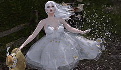 Gust (KittyBlue Rae) Tags: secondlife netherfield solo sunshine wind flowers breeze