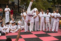 2018-9-8 Grupo Ondas Capoeira at WaterFire (Photograph by Kevin Murray) (3)