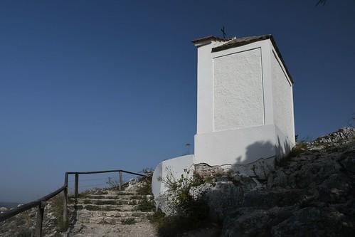 Mikulov, Aufstieg zum  Svatý kopeček (Heiliger Berg)