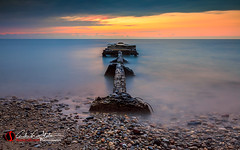 Relaxation comes from letting go of tense thoughts. (andrewslaterphoto) Tags: andrewslaterphotography beach clouds discoverwisconsin grantpark greatlakes lakemichigan landscape milwaukee nature outdoors rocks southmilwaukee sunrise travelwisconsin water mke mkemycity relaxation tense rough canon longexposure 5dmarkiii