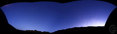 Valley of Rocks Pano Looking North [2018.10.30] (1CM69) Tags: 1cm69 750d astrophotography canon canon750d exiftool exmoor geosetter kjevans lynton m45 photoshop pleiades polaris lyntonandlynmouth england unitedkingdom gbr