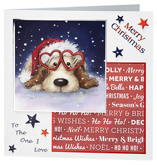 Craft Creations - Shelley181 (Craft Creations Ltd) Tags: puppy christmas greetingcard craftcreations handmade cardmaking cards craft papercraft
