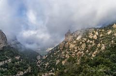 entre boires (Josep M.Toset) Tags: arbres bosc camí catalunya agulles cingles barranc d800 josepmtoset muntanya montsant nikon núvols boires paisatges priorat roques sigma24105mmf4dgoshsmart