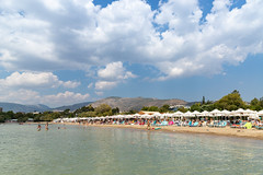 Asteras Strand Glyfada Athen, Griechenland