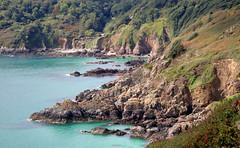 Along the south coastal path, Guernsey (robin denton) Tags: guernsey southcoast coastalpath seascape landscape scenery coastline coastalscenery channelislands cliffs sea atlanticocean ocean