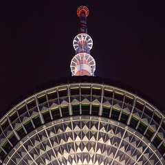 night view (pixiespark) Tags: berlin alexanderplatz fernsehturm citylights stadtlichter nightview