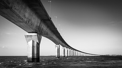 Bridge of L'île de Ré (Thieu | Photography) Tags: landscape bridge bw sony ilederé structure blackwhite a7riii ocean beautiful huge island trip sel1635gm impressive architecture lightroom infinite charentemaritime france fr