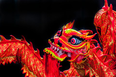 Red for luck (Tony Shertila) Tags: liverpool england unitedkingdom gbr 20180218145126liverpoolchinesenewyearlr europe merseyside britain dragon chinesenewyear eyes