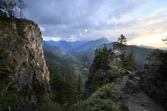 Hike to Nosal (Simon -n- Kathy) Tags: nosal zakopane tatra mountain hike poland sunset