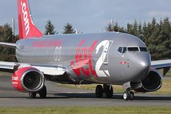 Boeing 737-8MG G-JZBJ Jet2 (Mark McEwan) Tags: boeing boeing737 b737 boeing7378mg gjzbj jet2 edi edinburghairport edinburgh aviation aircraft airplane airliner jet2kos