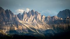 Alta Via 2, Stage 1, Dolomiti, Italia (monsieur I) Tags: dolomiti altavia2 summer dolomites eveninglights altavia summits trekking monsieuri italy italia travel evening italian moutains