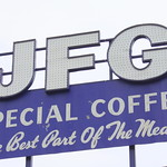 JFG Special Coffee sign - Knoxville thumbnail