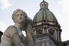 DSC_0019_1 (en.putrino) Tags: palermo sicilia italia sicily piazza pretoria massimo teatro statue leone fontana della vergogna acqua cielo nuvole clouds sky italy